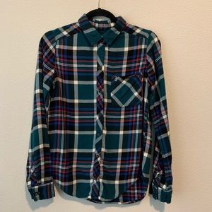 Abercrombie & Fitch Womens Flannel size medium G60